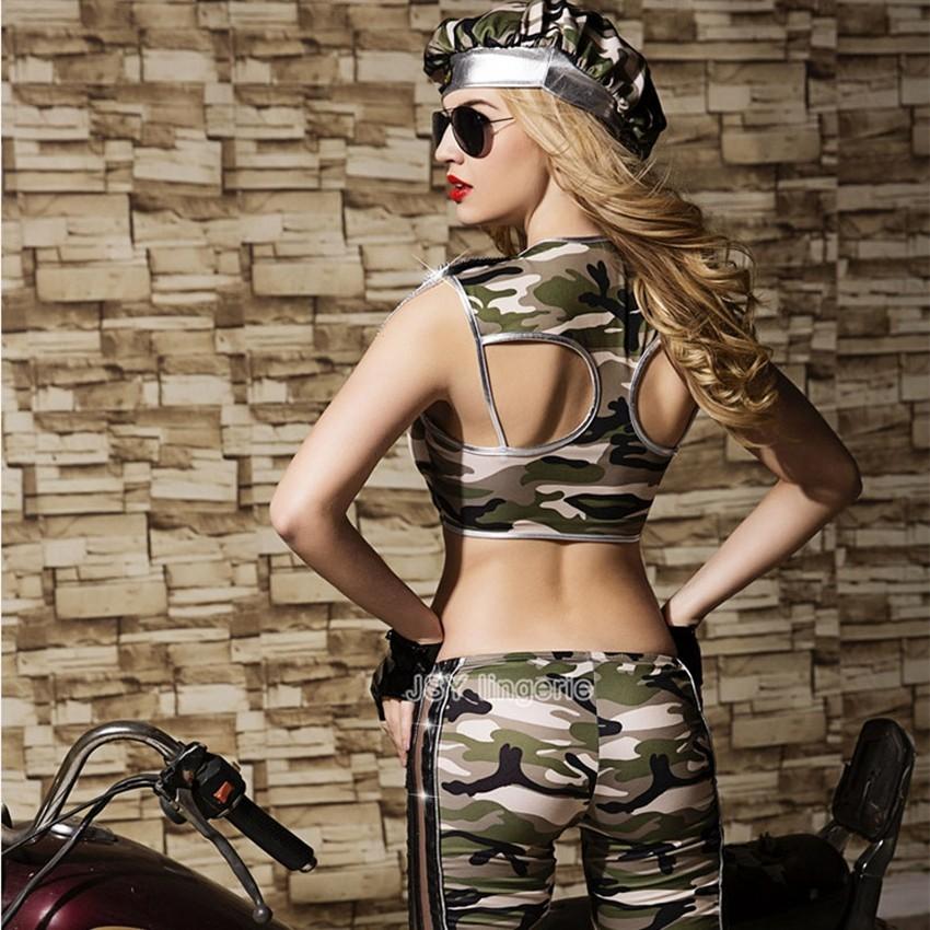 Captivating Camo Sexy Army Costume