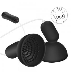 Remote Nipple Sucker Vibrator Breast Pump Nipple Massager Vibration Sex Toys for Woman