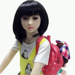 125cm 4.1ft adult realistic TPE flat chest sex doll