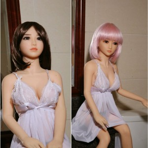 125cm 4.1ft Real Silicone TPE Sex Doll Men Sex Doll Lifelike Adult Love Toy Skeleton Masturbation
