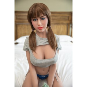 157cm 5.15ft Realistic TPE Sex Doll 157cm Small Boobs