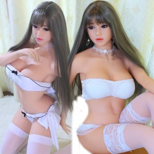 165cm 5.41ft Lifelike Silicone Sex Doll Metal Skeleton Realistic Love Dolls With 3 Holes Mouth Vagina Anal