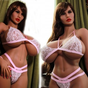 170cm 5.57ft TPE  Life Like Huge Tits Sex Doll With Big Breast And Ass Full Body 3 Holes Silicone Love Dolls