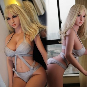 165cm 5.41ft  LIfe Like Real Silicone Sex Doll With Oral Vaginal Anal Love Doll For Sale
