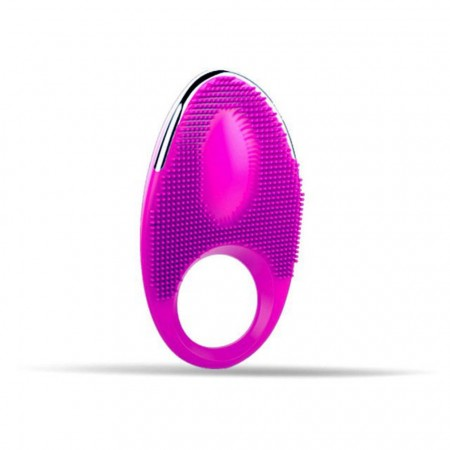 Rechargeable 20 Speed vibrating cock ring Delay Spray for Men