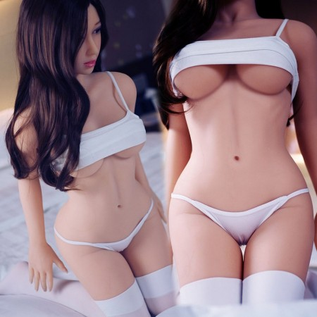 140cm 4.59ft Big Boobs Asian love dolls Lifelike Adult Silicone Realistic TPE Sex doll with Realistic Mouth Ass Vagina D-Cup