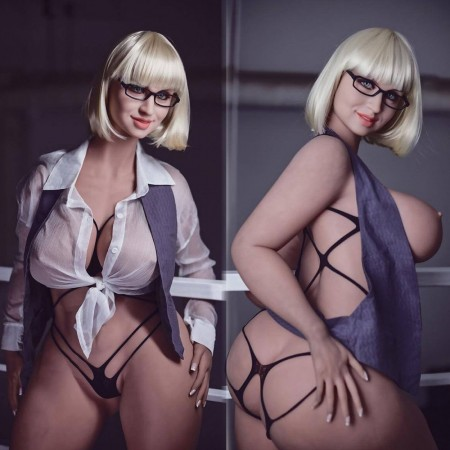 163cm 5.5ft Silicone Sex Dolls With Realistic Big Boobs Big Butt Adult Lifelike Love Doll Helen