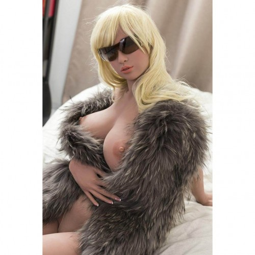 165cm 5.5ft Silicone Sex Dolls With Realistic Big Boobs Big Butt Adult Lifelike Love Doll Paris