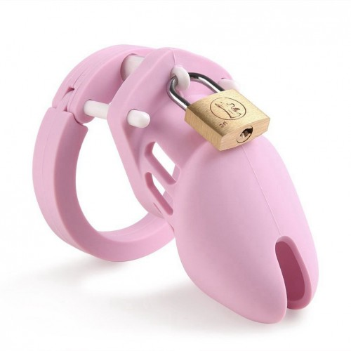 Silicone Soft Cock Cage Chastity Device Chastity Cage for Male Penis Exercise