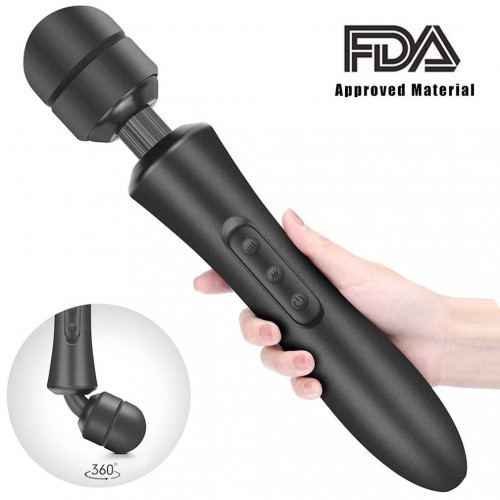 Powerful Battery Operated Handle AV Wand Massager Clitoris Stimulate For Couples