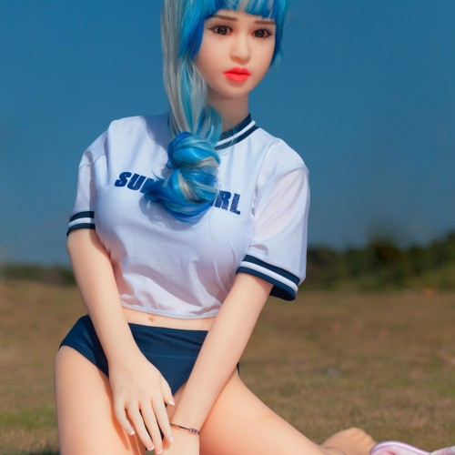 Thin Body Shemale Sex Doll 140cm 4.59ft Small Breasts