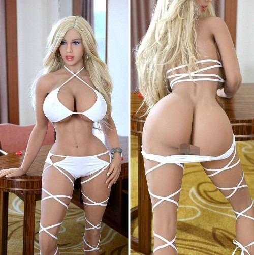 162cm 5.31ft Shemale Lifelike Silicone Love Doll With Realistic 3 Oral Vagina Full Size Adults Sex Doll