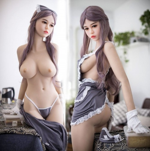 165cm 5.41ft Full Size TPE Silicone Sex Doll Aniyah Real Sexy Girl Lifelike Adult Love Doll for Men