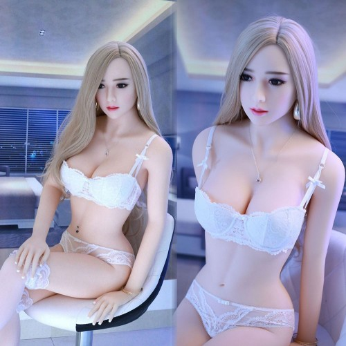 158cm 5.18ft Big Boobs Silicone Sex Love Doll Entity Body Lifelike Sexy Real Solid Love Toy