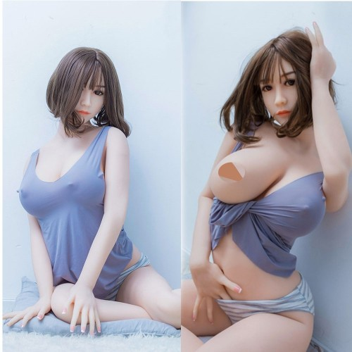165cm 5.41ft LIfe Like Sexy Silicone Sex Doll With Real Oral Vaginal Anal Adult TPE Love Dolls