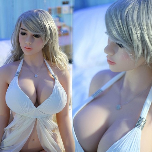 158cm 5.18ft Big Boobs Anna Silicone Sex Love Doll Lifelike Sexy Real Solid Love Toy With 3 Holes Ass Vagina Oral