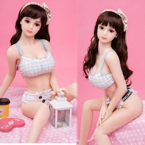 110cm 3.61FT Silicone Life Like Sex Doll Realistic Love Doll Blair