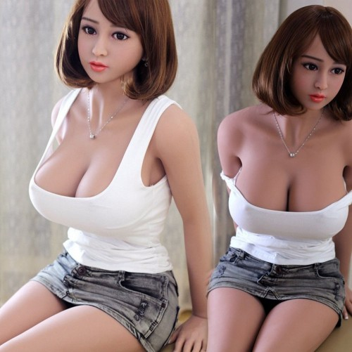 158cm 5.18ft Lifelike TPE Big Ass Real Life Sex Doll Real Male Love Toy Silicone Realistic Doll