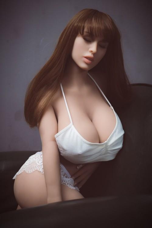 European giant breast closed eyes BBW sex doll 108CM / 3.54ft
