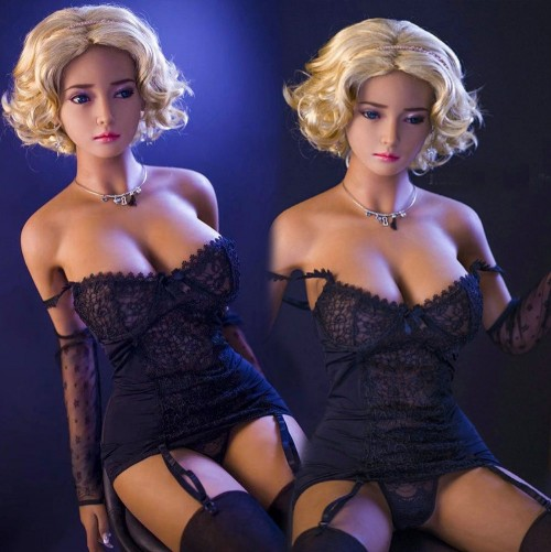 165cm 5.41ft Luxury Likelife Shemale love Doll Bad Girl Sexy Real Silicone 3 Holes Sex Doll